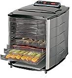 Weston for Jerky Making, Preservation Drying 10 Tray 11x13 Digital Food Dehydrator, 11 sq. Feet...