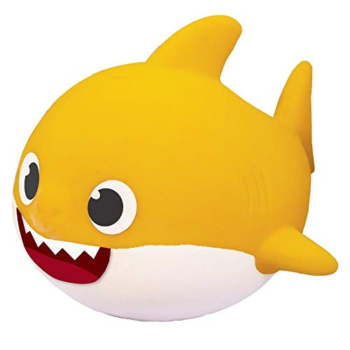 Boneco Baby Shark, Elka, Amarelo