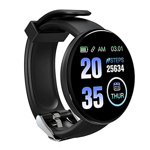 Smartwatch Uomo Donna, Orologio Fitness Activity Tracker Bluetooth 5.0 Impermeabile IP68 Touch Screen Controllo da Polso Contapassi per Android iOS Samsung Huawei