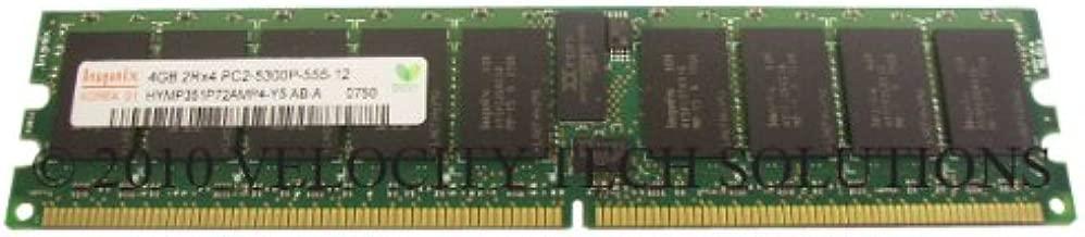 Dell JK002 Poweredge 2970 6950 R300 R805 R905 SC1435 T300 T605 4GB (1x4GB) Memory