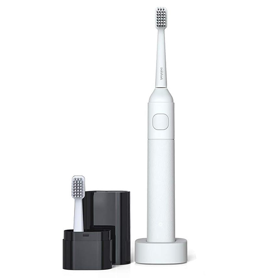 ブリード音声学コンパクト電動歯ブラシソニック電動歯ブラシ大人の柔らかい髪の充電式ホームカップル歯ブラシ