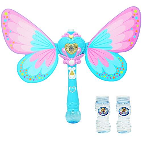 MILONT Máquina eléctrica de burbujas para niños, juguete de cámara de animales, máquina de pompas de animales, juguete para niños, amantes de verano, juguete para exteriores, juguete de playa