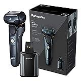 Panasonic ES-LV97 - Afeitadora eléctrica de 5 cuchillas con soporte de limpieza...