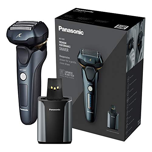 Panasonic ES-LV97 Wet and Dry Rechargeable 5-Blade Electric Shaver with...