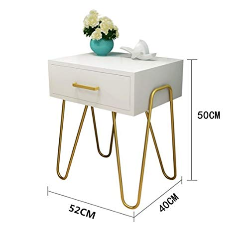 Fantastic Prices! HANXIAODONG Bedside Table Nightstand for Bedroom Modern Accent Bedside Table Sofa ...