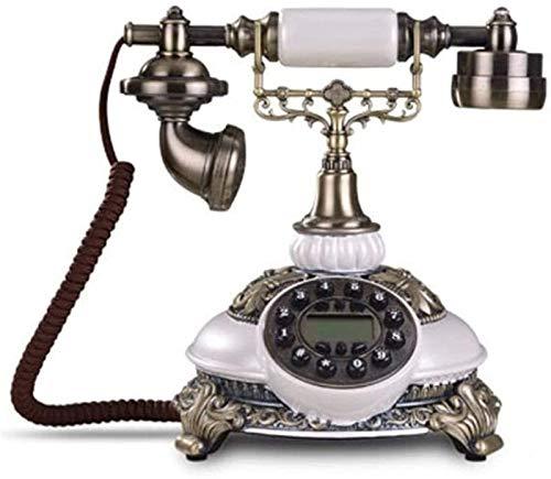 CMMWA Oficina Teléfono Fijo Moda Creativa Retro teléfono Fijo teléfono Moderno teléfono Fijo Retro,