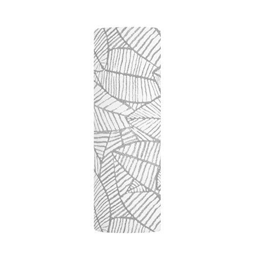 aden + anais - Lange en Coton - Maxi Lange Bébé Maille Confort - Doux et Confortable - Couverture d'Emmailllotage pour Nouveau-né - pour Fille et Garçon dès la Naissance - Gris et Blanc, 120x120 cm