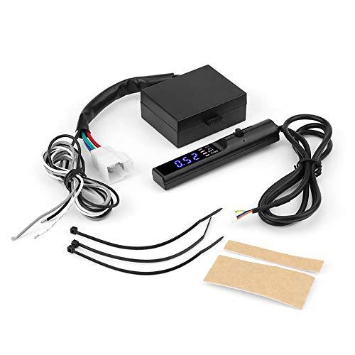 KIMISS 12V Universal Temporizador turbo/Protector del dispositivo de Modificado, Temporizador Turbo para coche con pantalla LED digital Tiempo de estacionamiento