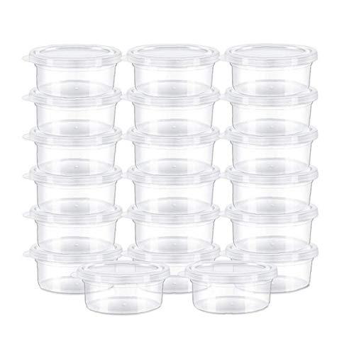 20 Gli Organizzatori Slime Plastica Durevole Pz Ermetiche Trasparente Slime Contenitori Schiuma Palle Storage Box Con Coperchio
