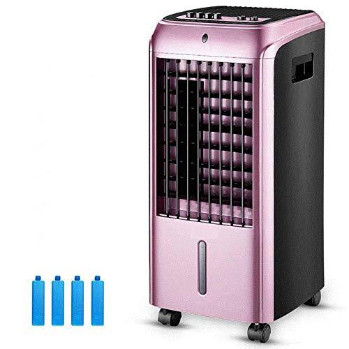 Aire Acondicionado Portátil Acondicionador de aire portátil, refrigerador de aire del ventilador Silent Small Soplador de aire Aire acondicionado, silenciador sin cuchilla con filtro antimicrobiano de