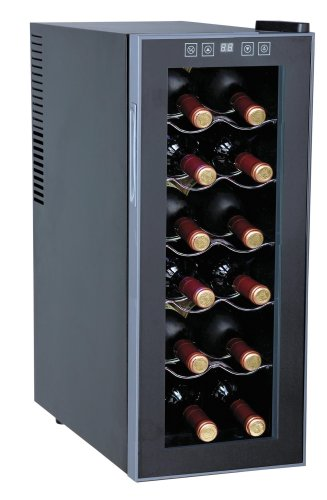 WC-1271: Thermo-Electric Slim Wine Cooler (12-bottles)