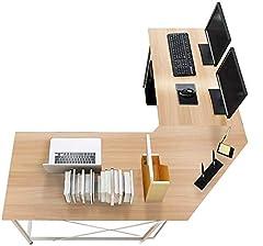 Computertisch in L-Form