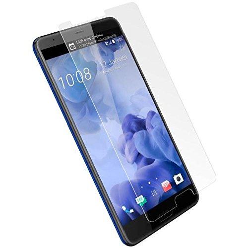 COPHONE® Pack de 2 Verre trempé HTC U Ultra, Film de Protection écran Premium Anti Chocs et Casse, Anti Empreintes, Bords arrondis,dureté Max 9H, 2,5d