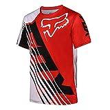 QINYA Radfahren Jersey,MTB-Trikot Outdoor-Radsport Fahrrad Reitanzug Langarm-Shirt,Unisex Downhill-Anzug Herren Mountainbike Motocross Trikot (Color 06,XL)