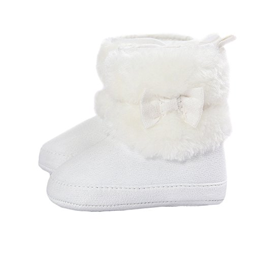 Matt Keely Bambino Ragazza Bowknot Stivali da Neve Stivaletti per Scarpe Invernali