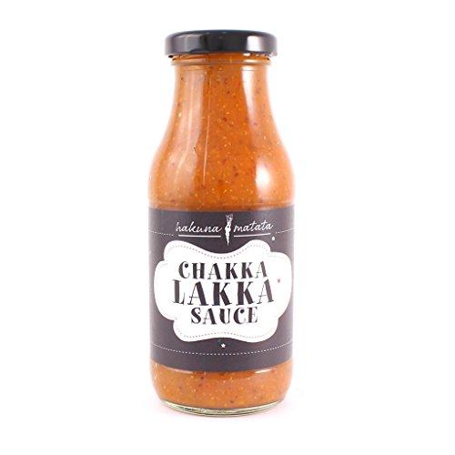 Chakka Lakka Sauce, afrikanische Chakalaka Sweet Chili Sauce - 250g Flasche