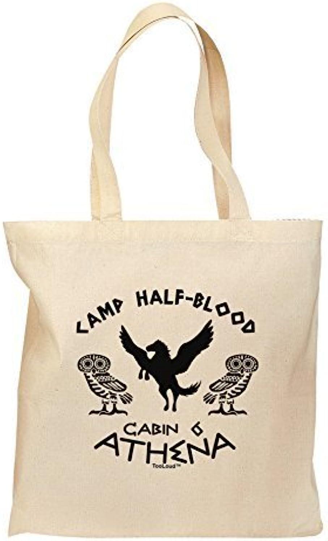 Tooloud Camp Half Blood Kabine 6 Athena Lebensmittels Tasche – Natural by tooloud B01FYNQS1C  Qualitätsservice