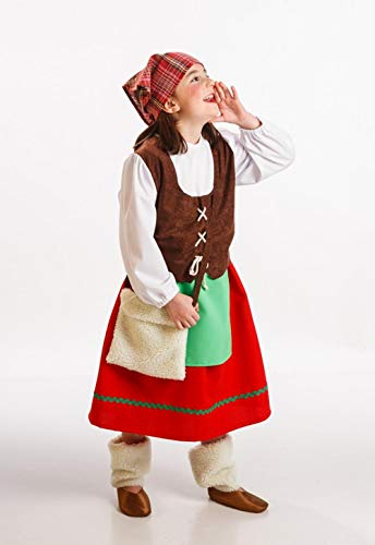 Disfraz de Pastora Asturiana infantil