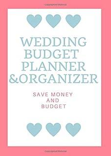 Wedding Budget Planner & Organizer: Wedding Planner & Organizer By A&K Komosa - Simple Planning Book to Plan Your Dream Bi...