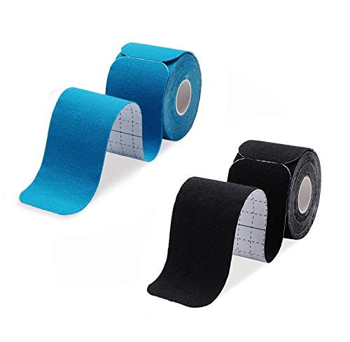 Libershine Muskeln Kinesiology Tape Classic, selbstklebender verband, Therapie-Tape, Physio - Tape, Selbstklebende Bandage Tape für Athletic Sport.5x500cm