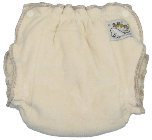 Mother-ease Sandy's Cloth Diaper (Large, Organic Cotton)