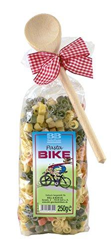 Pasta Präsent Bike mit bunten Fahrradnudeln handgefertigt in deutscher Manufaktur