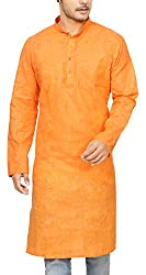 Dolphin Miles Mens Cotton Kurta