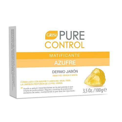 GRISI Pure Control Dermojabón de Azufre 100 g.