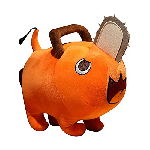 MINTIA 25 / 40cm, Anime ChainsawSeries Man Anime Plush Toy, Cute Pochita Plushie Stuffed Pillow, Juguetes para niños, Regalos de cumpleaños para niños Muñeco de Motosierra de 25cm