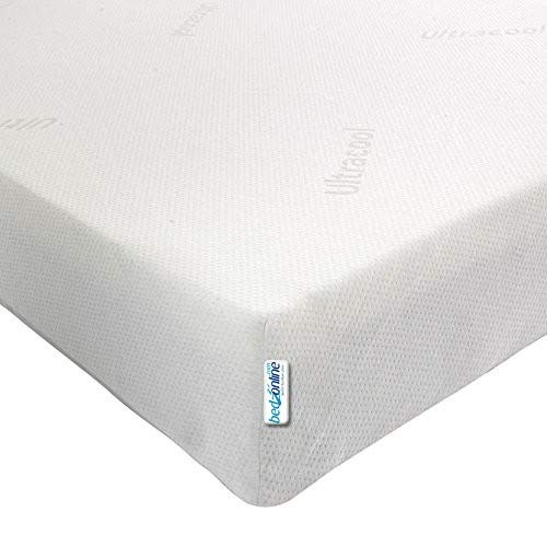 3FT SINGLE BUDGET ECONOMY MEMORY FOAM MATTRESS 11CM DEPTH