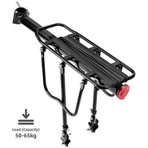 D&XQX Portabicicletas, portabicicletas Trasero, portabicicletas de aleación de Aluminio Ajustable, liberación rápida y Montaje para Bicicleta de montaña, Bicicleta de Carretera