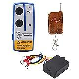 Fictory Winch Control-12V 50ft Kit Telecomando Universale per verricello Senza Fili per Camion per Auto