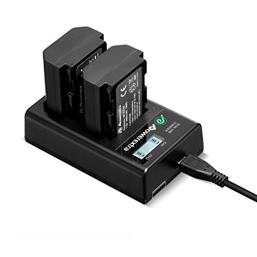 VHBW dual cargador con display para Sony dcr-trv9 dcr-trv900