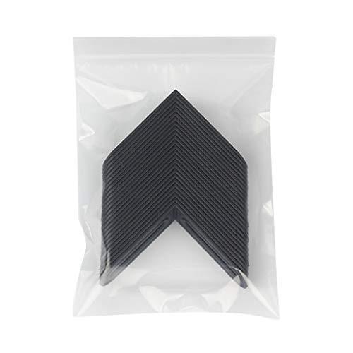 Buwei 25 Piezas espaciadores de Azulejos Sistema de ángulo de nivelación Cruzada Mejora Reutilizable extraíble