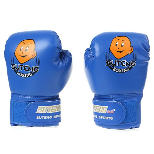 Buy Cher9 Children Cartoon Punching Bag Sparring Boxing Gloves, Training Fight Age 3-12
