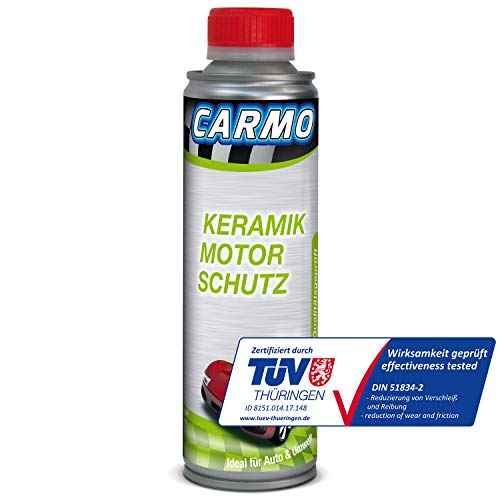 CARMO Keramik Motor Schutz | Keramik Additiv | Ceramic Additiv | Verschleißschutz | Motoröl Ölzusatz | Motor Protect | 250 ml Dose