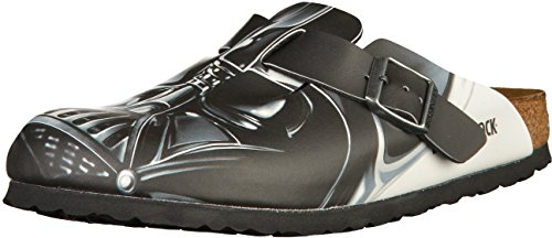 BIRKENSTOCK Boston Jungen Clogs Star Wars Darth Vader Big Head, EU 36