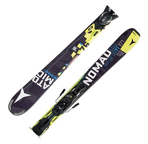 Atomic Nomad Radon TI ARC - sportlicher All Mountain Ski + XTO 12 Bindung , Länge in cm:178 cm