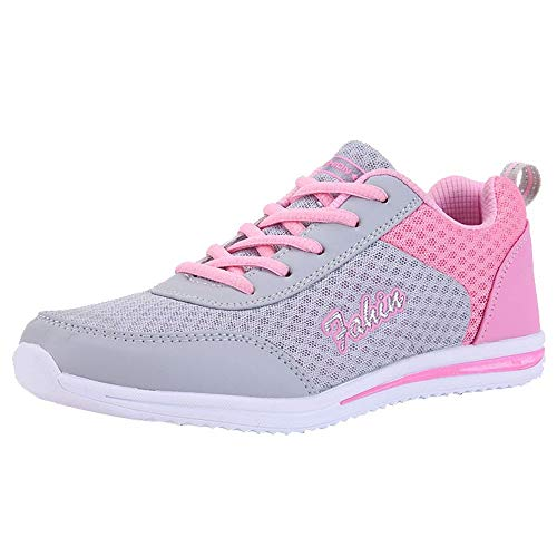 NMERWT Frauen Sneakers Mode Schuhe Fitnessschuhe Outdoor Wanderschuhe Wohnungen Schuh Freizeitschuhe Sportschuhe