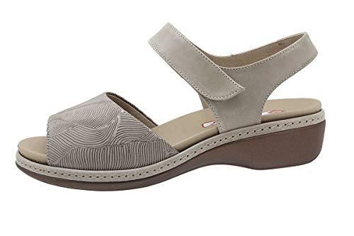 Zapato Cómodo Mujer Sandalia Plantilla Extraíble 190807 PieSanto