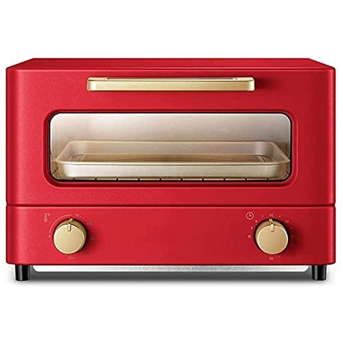 ZLQBHJ Horno de Cocina de la máquina de Pan 12L, 70-230° C Control de Temperatura 30 Minutos Tostador de Temporizador, for Herramientas de Hornear multifuncionales en casa