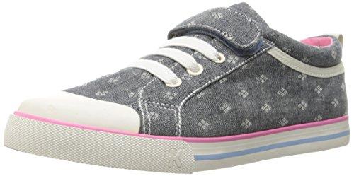 See Kai Run Girl's Kristin Chambray Sneaker, 2 M US Little Kid