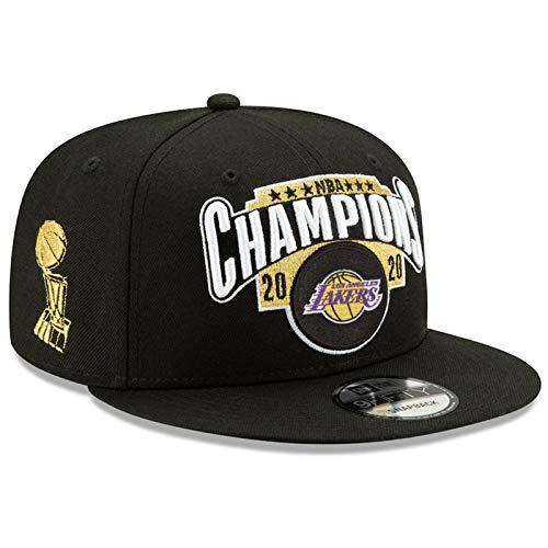 PLZY Gorra de Campeonato de los Lakers 2020, Gorra de béisbol Ajustable, Gorra Deportiva para Hombres y Mujeres