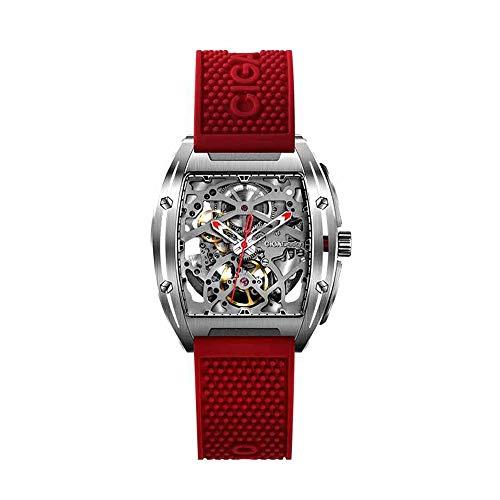Relojes mecánicos automáticos para Hombre de la Serie Mijia CIGA Design Z (Rojo)