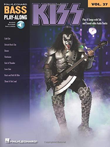 Bass Play-Along Vol.27 Kiss + Cd