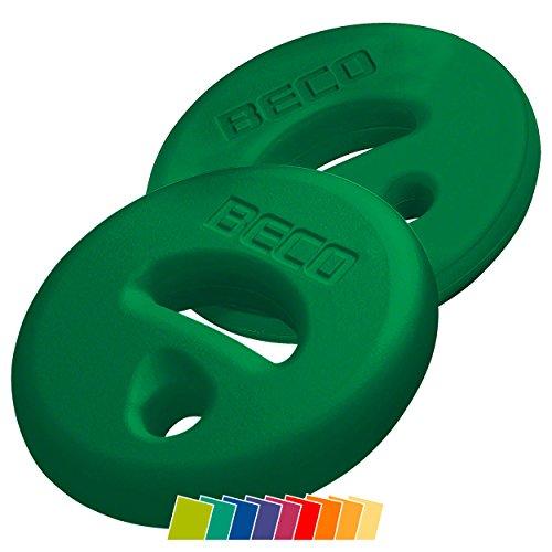 BECO AquaDisc SZ Aqua Training Trainingsscheiben Aqua Hanteln Paar grün