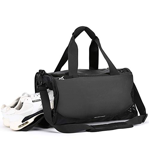 Travel Bag Duffel Bags for Men & Women Weekend Overnight Bag Holdalls Sports Gym Bag for Men,Large Waterproof Holdall with Shoe Compartment & Multiple Pockets Huge Capacity