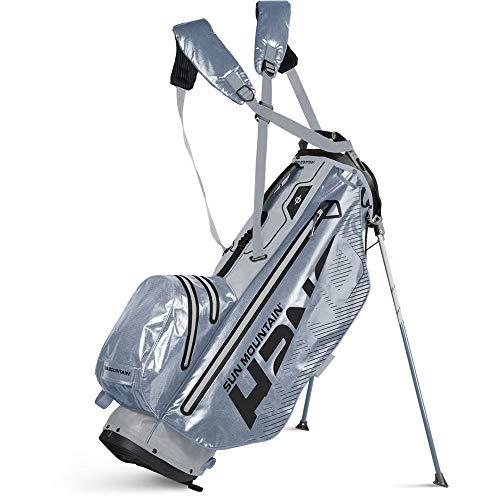 Sun Mountain 2020 H2NO Superlite Golf Stand Bag (Cadet-Nickel)