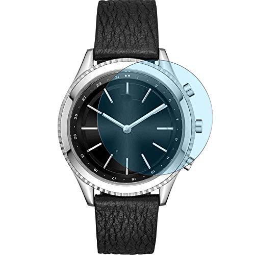 Vaxson 3 Stück Anti Blaulicht Schutzfolie, kompatibel mit DKNY Minute 38mm Smartwatch Hybrid Watch, Displayschutzfolie Bildschirmschutz [nicht Panzerglas] Anti Blue Light
