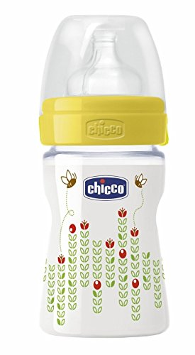 Chicco Well-being Bottle 150 Ml Silicone - Regular Flow